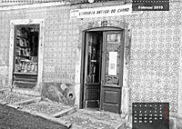 Lissabon - Schwarzweiß (Wandkalender 2019 DIN A2 quer) - Produktdetailbild 5