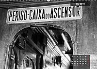 Lissabon - Schwarzweiß (Wandkalender 2019 DIN A2 quer) - Produktdetailbild 8