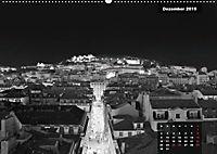 Lissabon - Schwarzweiß (Wandkalender 2019 DIN A2 quer) - Produktdetailbild 11