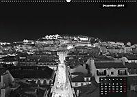 Lissabon - Schwarzweiss (Wandkalender 2019 DIN A2 quer) - Produktdetailbild 12