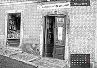 Lissabon - Schwarzweiss (Wandkalender 2019 DIN A2 quer) - Produktdetailbild 2