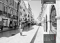 Lissabon - Schwarzweiss (Wandkalender 2019 DIN A2 quer) - Produktdetailbild 1