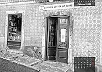 Lissabon - Schwarzweiß (Wandkalender 2019 DIN A3 quer) - Produktdetailbild 2