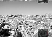 Lissabon - Schwarzweiß (Wandkalender 2019 DIN A3 quer) - Produktdetailbild 3