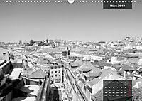 Lissabon - Schwarzweiss (Wandkalender 2019 DIN A3 quer) - Produktdetailbild 3