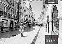 Lissabon - Schwarzweiß (Wandkalender 2019 DIN A3 quer) - Produktdetailbild 1
