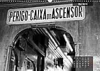 Lissabon - Schwarzweiß (Wandkalender 2019 DIN A3 quer) - Produktdetailbild 5