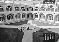 Lissabon - Schwarzweiß (Wandkalender 2019 DIN A3 quer) - Produktdetailbild 10
