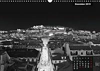 Lissabon - Schwarzweiß (Wandkalender 2019 DIN A3 quer) - Produktdetailbild 12