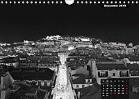 Lissabon - Schwarzweiß (Wandkalender 2019 DIN A4 quer) - Produktdetailbild 7