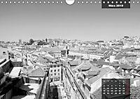 Lissabon - Schwarzweiß (Wandkalender 2019 DIN A4 quer) - Produktdetailbild 8