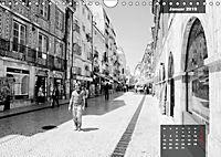 Lissabon - Schwarzweiß (Wandkalender 2019 DIN A4 quer) - Produktdetailbild 1