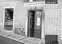 Lissabon - Schwarzweiß (Wandkalender 2019 DIN A4 quer) - Produktdetailbild 2