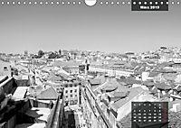 Lissabon - Schwarzweiß (Wandkalender 2019 DIN A4 quer) - Produktdetailbild 3