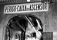 Lissabon - Schwarzweiß (Wandkalender 2019 DIN A4 quer) - Produktdetailbild 5