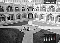 Lissabon - Schwarzweiß (Wandkalender 2019 DIN A4 quer) - Produktdetailbild 10