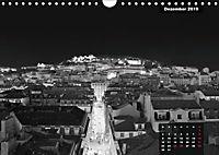 Lissabon - Schwarzweiß (Wandkalender 2019 DIN A4 quer) - Produktdetailbild 12