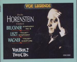 Liszt,Wagner,Bruckner: Faust, Horenstein, Swr So, Wiener Symph.