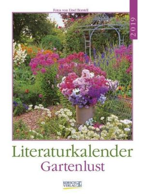 Literaturkalender Gartenlust 2019