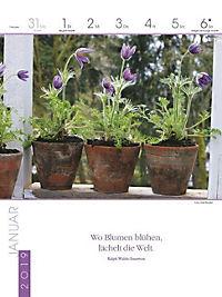 Literaturkalender Gartenlust 2019 - Produktdetailbild 1