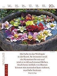 Literaturkalender Gartenlust 2019 - Produktdetailbild 5