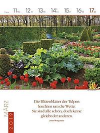 Literaturkalender Gartenlust 2019 - Produktdetailbild 11