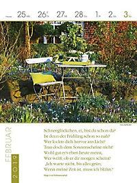 Literaturkalender Gartenlust 2019 - Produktdetailbild 9