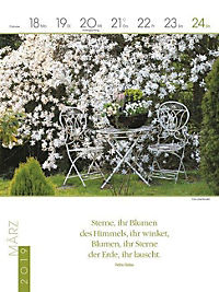 Literaturkalender Gartenlust 2019 - Produktdetailbild 12
