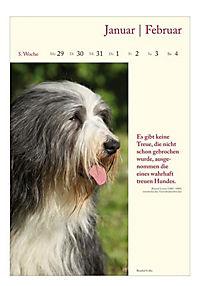 Literaturkalender Hunde, Wochenkalender 2018 - Produktdetailbild 1
