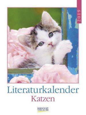 Literaturkalender Katzen 2019