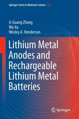 Lithium Metal Anodes and Rechargeable Lithium Metal Batteries, Ji-Guang Zhang, Wu Xu, Wesley A. Henderson
