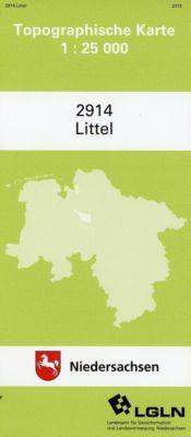 Littel 1 : 25 000. (TK 2914/N)