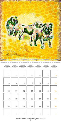 Little Colour Nuances (Wall Calendar 2019 300 × 300 mm Square) - Produktdetailbild 6