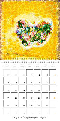 Little Colour Nuances (Wall Calendar 2019 300 × 300 mm Square) - Produktdetailbild 8