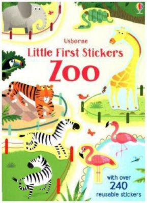 Little First Stickers Zoo, Holly Bathie