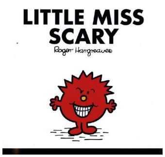 Little Miss Scary, Roger Hargreaves