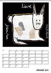 little pets (Wandkalender 2019 DIN A2 hoch) - Produktdetailbild 1