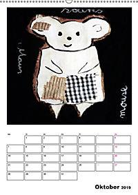 little pets (Wandkalender 2019 DIN A2 hoch) - Produktdetailbild 10