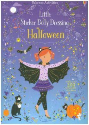 Little Sticker Dolly Dressing Halloween, Fiona Watt