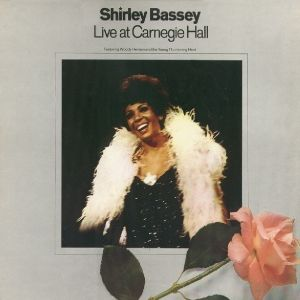 Live At Carnegie Hall, Shirley Bassey