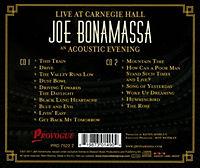 Live At Carnegie Hall - An Acoustic Evening (2 CDs) - Produktdetailbild 1