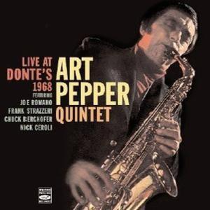 Live At Donte'S 1968, Art Quintet Pepper
