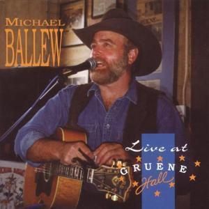 Live At Grüne Hall, Michael Ballew