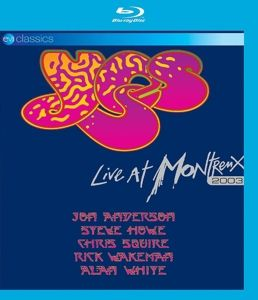Live At Montreux 2003 (Bluray), Yes
