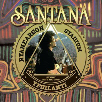 Live At The Rynearson Stadium,Ypsilanti Mi 25th Ma (Vinyl), Santana