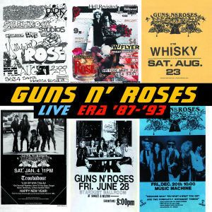 Live Era '87-'93 Disc 1, Guns N' Roses