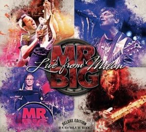 Live From Milan (2 CDs + Blu-Ray Digipack), Mr.Big