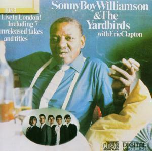 Live In London, Sonny Boy & The Yardbirds Williamson