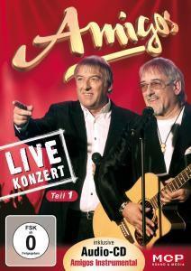 Live-Konzert-Teil 1 Inkl.Audio-Cd Amigos Instrumen, Amigos