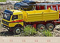 LKW Modelle beim Dampfmodellbautreffen in Bisingen (Wandkalender 2019 DIN A2 quer) - Produktdetailbild 1